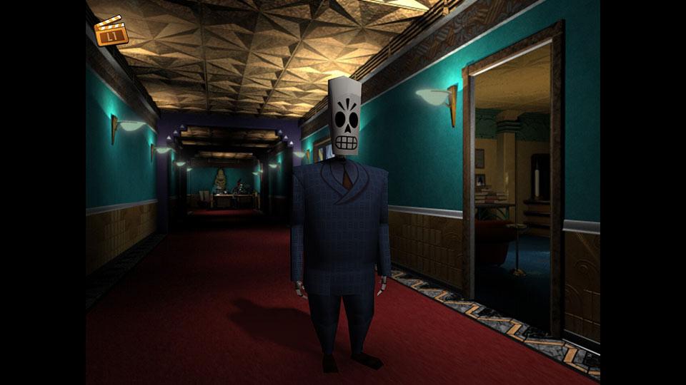 Grim Fandango gibt es jetzt als überarbeitete HD-Version.