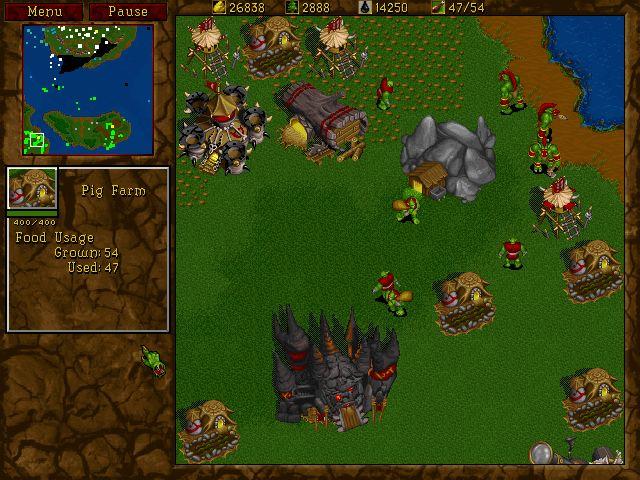 Warcraft 2 (1995)  gehört zu den besten klassischen Echtzeitstrategiespielen.